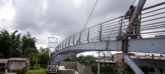 Soldadura del Puente Metálico en Sitio