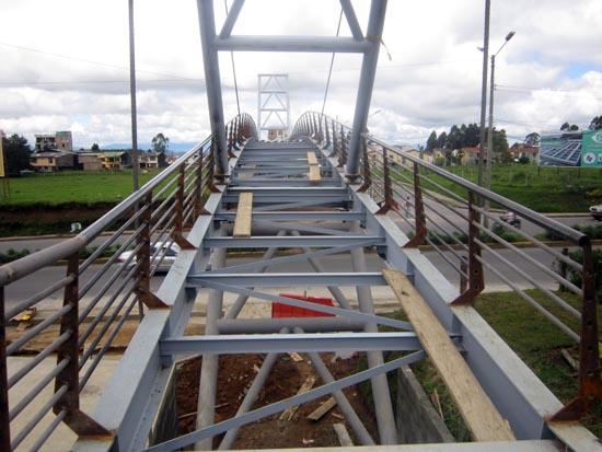 Estructura del Puente sin Steel Deck