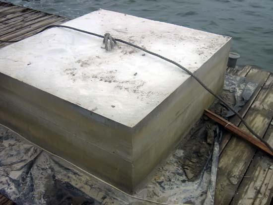 Base de contrato submarina terminada