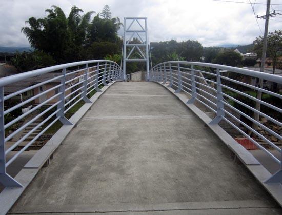 Placa del Puente Fundida