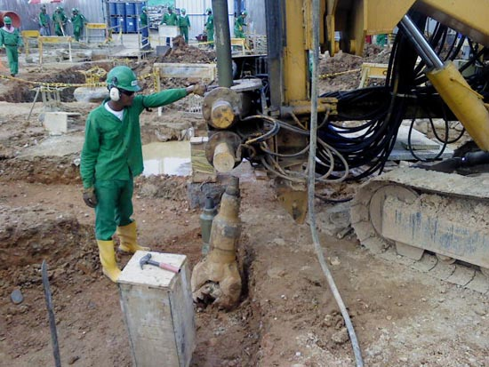 Excavación Terrestre
