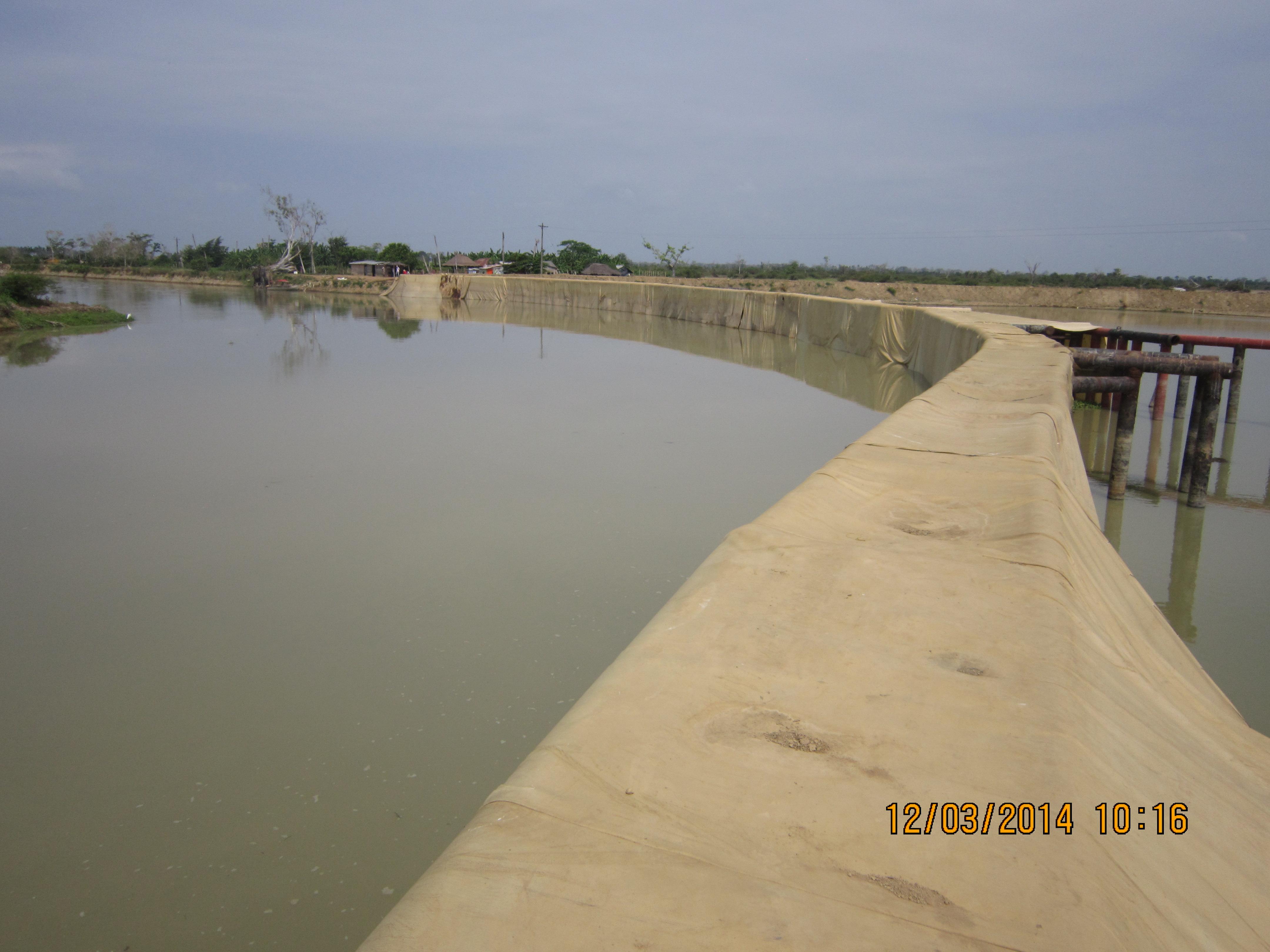 Suministro e instalación de Hidroblock en la barrera principal